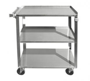 Three Tier Stainless Steel Bus Cart