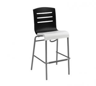Grosfillex Domino Stacking Bar Stool 2 Pack US051017