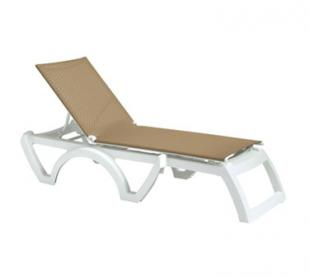 Grosfillex Calypso Chaise US746552 - Case of 2