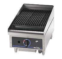 Star-Max Lava Rock Countertop Charbroiler - 15 Inch
