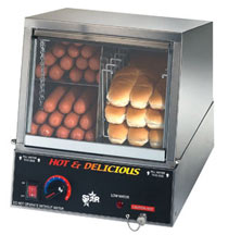 Star Hot Dog Steamer 35SSA