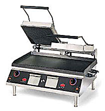 Star 14x28 Cast Iron, 2 Sided Grill with Grooved Top