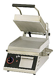 Star Two-Sided Grill with 10x10 Smooth Aluminum Surface