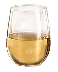 Stemless White Wine Glasses 12/case - 221