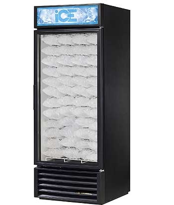 Glass Door Ice Merchandiser - GDIM-26NT-LD