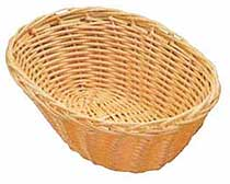 Woven Basket - Natural Oval 9 Inch - One Doz