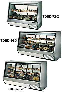 True Double-Duty Deli Cases