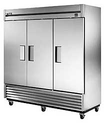 True 300 Series Stainless Steel Reach-In Cooler - TS-72-HC