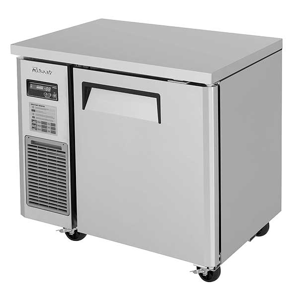 Turbo Air J Series Side Mount Undercounter Freezer Narrow One-section - JUF-36S-N