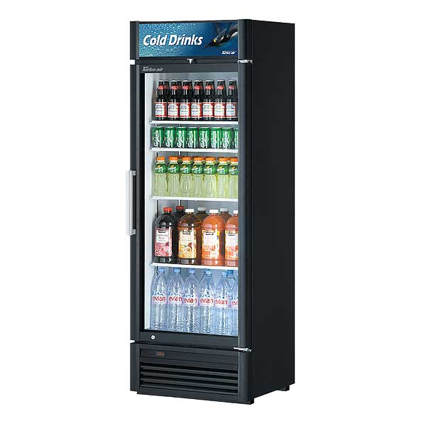 Turbo Air Super Deluxe Refrigerated Merchandiser One-section 14.43 Cu. Ft. - TGM-15SD-N6