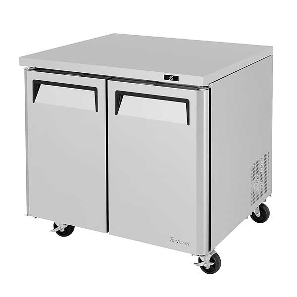 Turbo Air M3 Series Undercounter Refrigerator Two-section 9.0 Cu. Ft. - MUR-36-N6