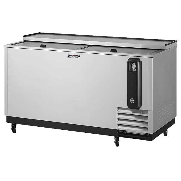"Turbo Air Super Deluxe Bottle Cooler 64.38""W 18.5 Cu.ft. - TBC-65SD-N6"