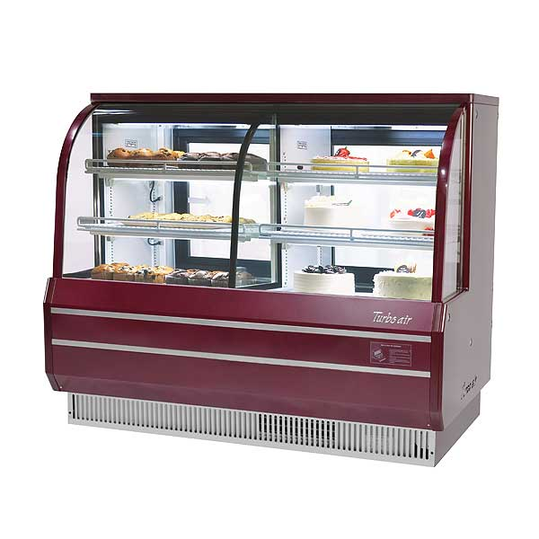 """Turbo Air Bakery Case Dry & Refrigerated Combination 72-1/2""""W - TCGB-72CO-R-N"""