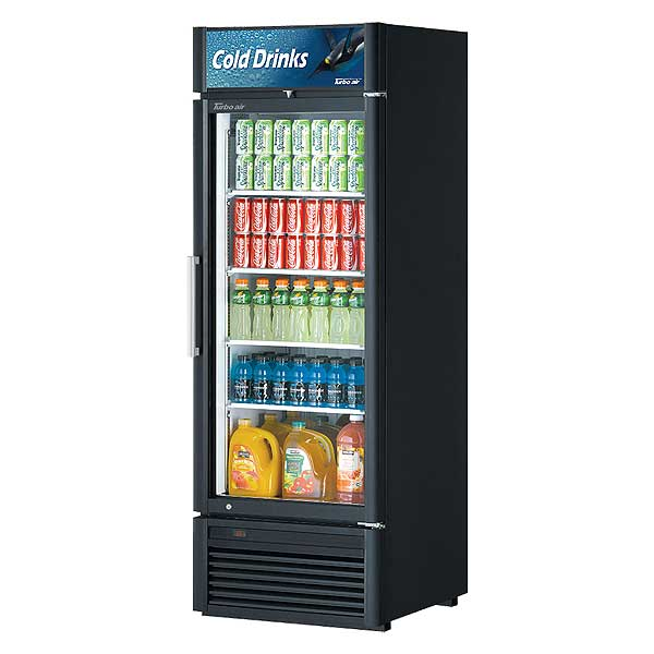 Turbo Air Super Deluxe Refrigerated Merchandiser One-section 19.04 Cu. Ft. - TGM-23SD-N6