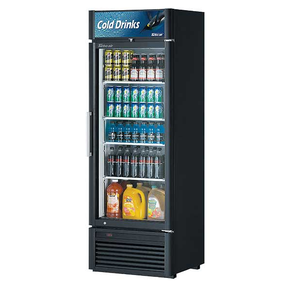 Turbo Air Super Deluxe Refrigerated Merchandiser One-section 16.01 Cu. Ft. - TGM-20SD-N6