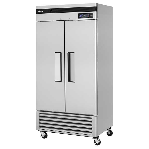 Turbo Air Super Deluxe Refrigerator Reach-in Two-section - TSR-35SD-N