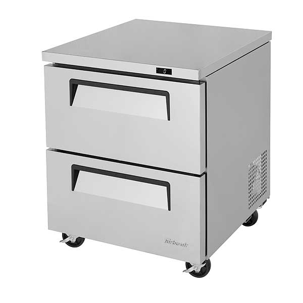 Turbo Air Super Deluxe Series Undercounter Freezer One-section 7.0 Cu. Ft. - TUF-28SD-D2-N