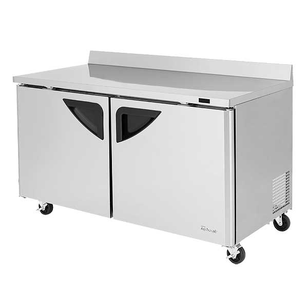 Turbo Air Super Deluxe Worktop Freezer Two-section 16.0 Cu. Ft. - TWF-60SD-N