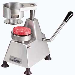 "Univex 1404 Hamburger Patty Press - 4"" Diameter Patty"