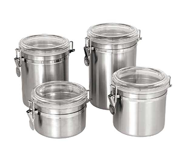 Update Storage Canisters with Clear Lids