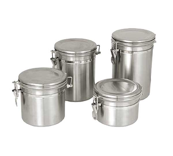 Update Stainless Storage Canisters for Ingredients, Tea, Food