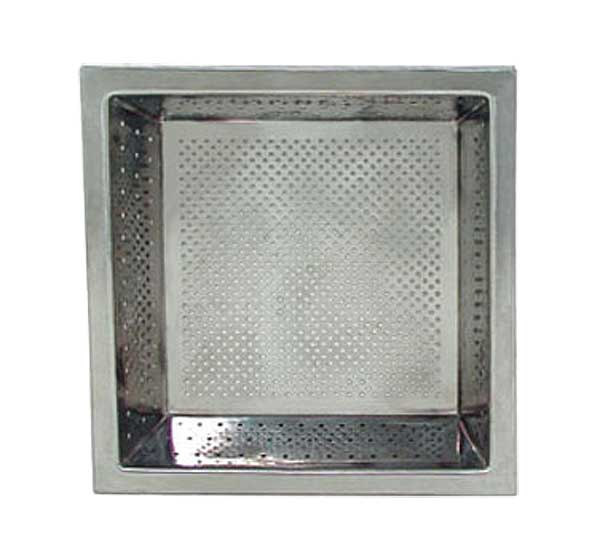 "Update International - Floor Drain Strainer 10"" x 10"" - FDS-875"
