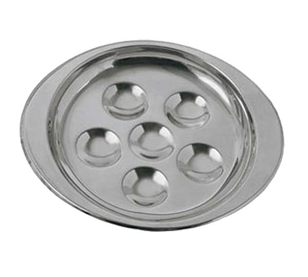 Update International - Deluxe Snail Dish 6-hole - SN-PL6