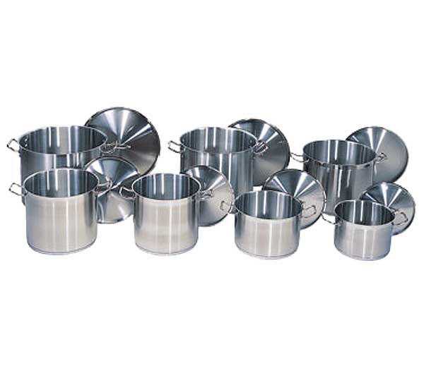 Update International - SuperSteel Induction Stock Pot 32 quart - SPS-32