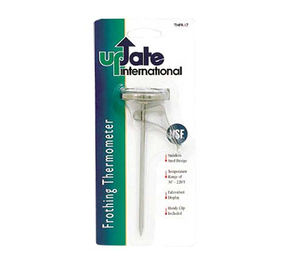 Update International - Frothing Thermometer 30° - 220°F - THFR-17