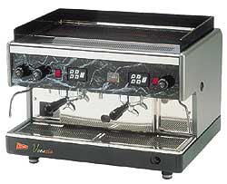 Cecilware Venezia 2 Group Automatic Espresso Machines w/ Volumetric Flow Control VAE-2