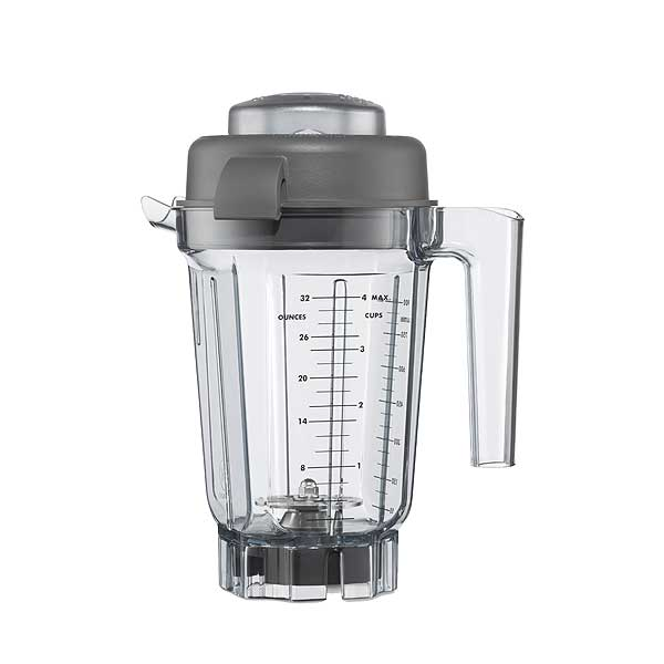 Vitamix Aerating Container Stackable 32 Oz. (0.9 Liter) Capacity Clear BPA Free Tritan Container - 62947
