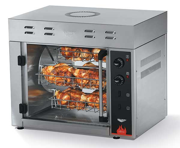 Vollrath Cayenne Rotisserie Oven - Eight Chickens