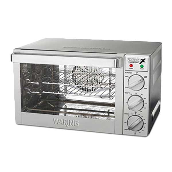 """Waring Commercial Commercial Convection Oven Countertop 21""""W X 19""""D X 12""""H - WCO250X"""