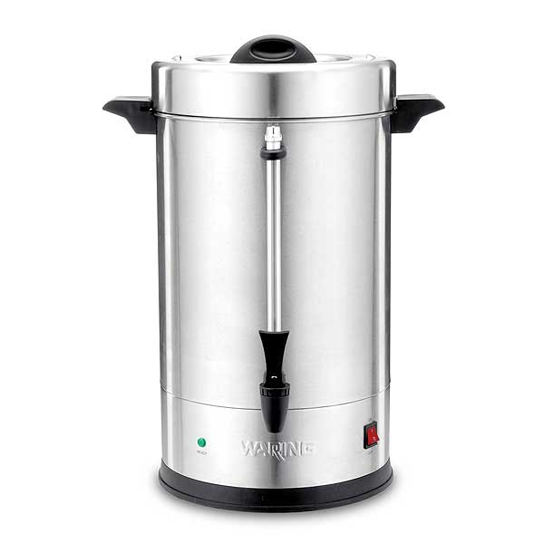 Waring Commercial Coffee Urn (110) 5 Oz. Cup Capacity Dual Heater System - WCU110
