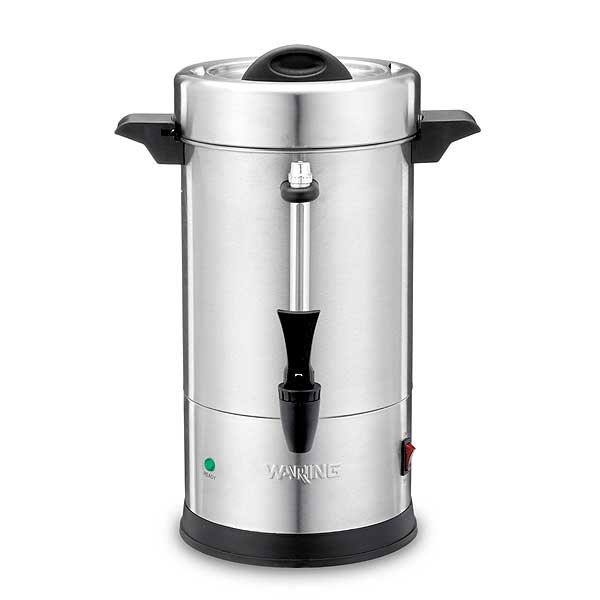 Waring Commercial Coffee Urn (30) 5 Oz. Cup Capacity Dual Heater System - WCU30