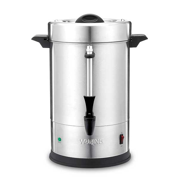 Waring Commercial Coffee Urn (55) 5 Oz. Cup Capacity Dual Heater System - WCU55