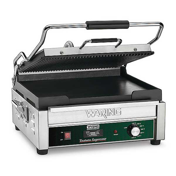 Waring Commercial Dual Surface Panini Grill Electric Double - WDG250T