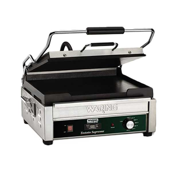 Waring Commercial Tostato Supremo Panini Grill Full Size With Programmable Timer - WFG275T