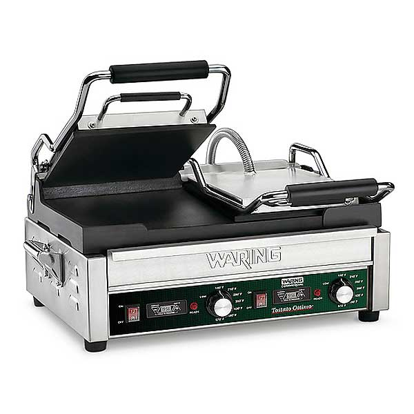 Waring Commercial Tostato Ottimo Dual Toasting Grill Electric Double - WFG300T