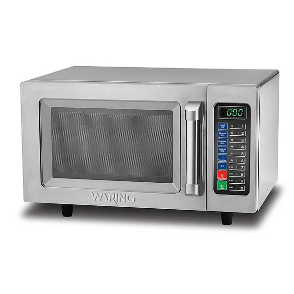 Waring Commercial Microwave Oven 1000 Watts .9 Cubic Feet - WMO90