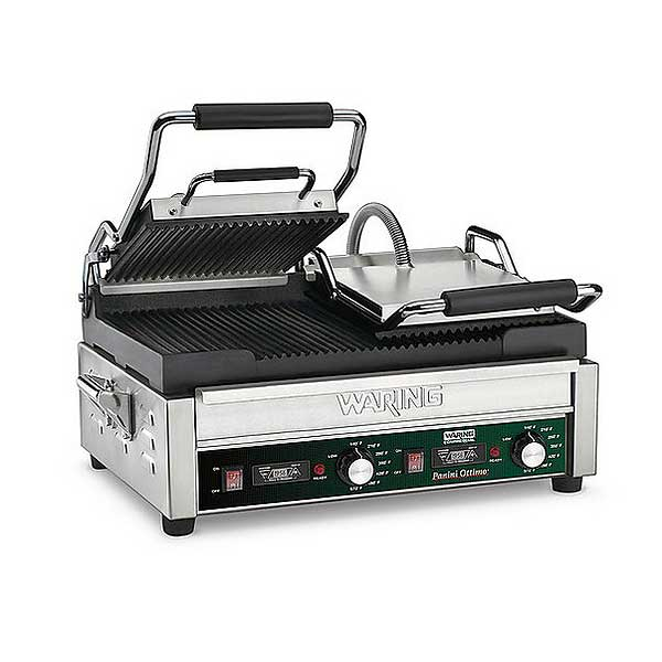 Waring Commercial Panini Ottimo Dual Panini Grill Electric Double - WPG300T