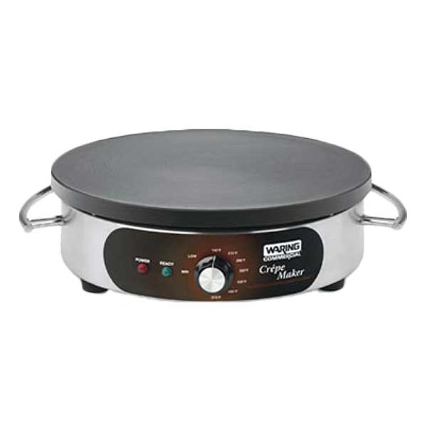 "Waring Commercial Crepe Maker Electric 16"" Cast Iron Cook Surface - WSC160X"