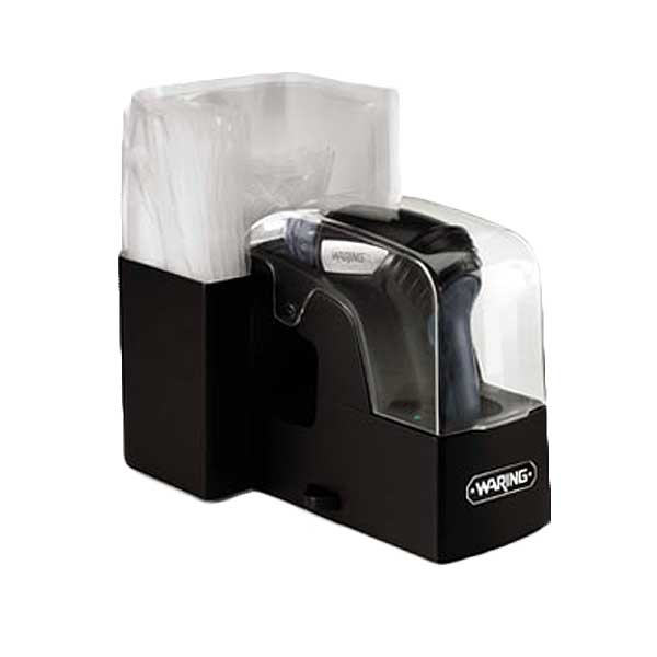 Waring Commercial Vacuum Sealing System Pistol Style Handheld Enclosed Storage & Charging Base - WVS50