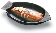 Stylish Fish Shaped Chasseur Grill by World Cuisine