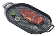 Oval Chasseur Grill with handles from World Cuisine