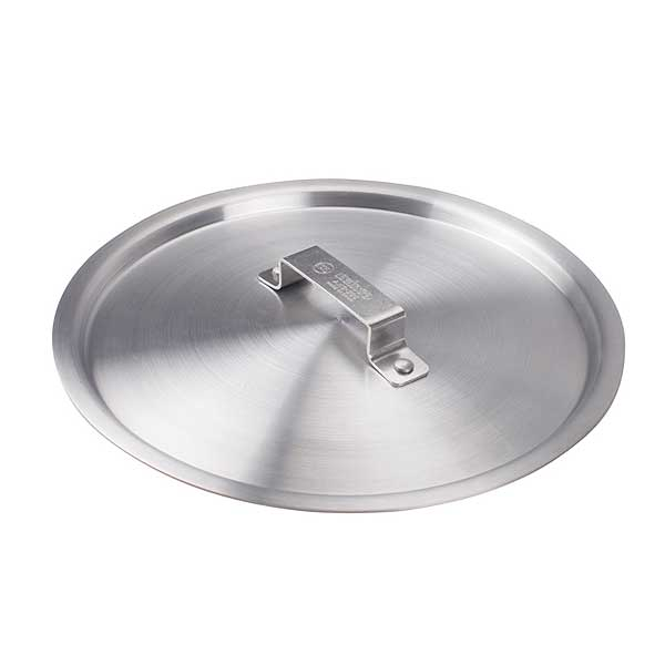 """Winco Professional Cover 12-1/2"""" Dia. For 12"""" Fry Pans - AXS-20C"""