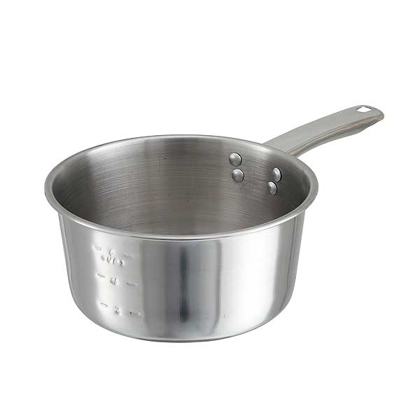Winco Sauce Pan 2 Qt. Riveted Handle - SAP-2