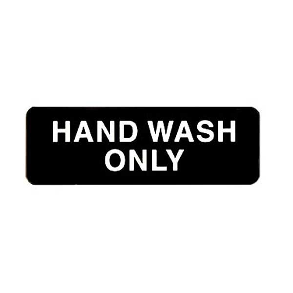 picture about Wash Rinse Sanitize Printable Signs titled Winco Informational Signs or symptoms for Dining establishments