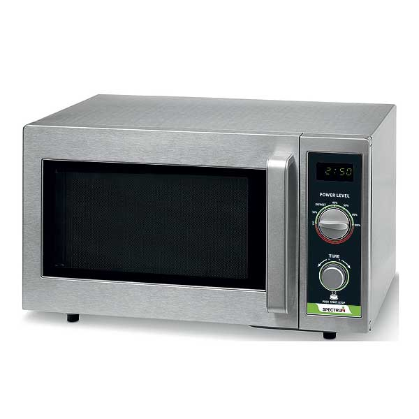 Winco Spectrum Commercial Microwave .9 Cubic Feet Capacity 1000 W Output - EMW-1000SD