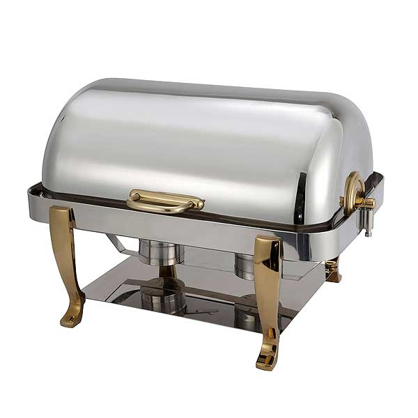 Winco Vintage Chafer 8 Quart Full Size - 108A